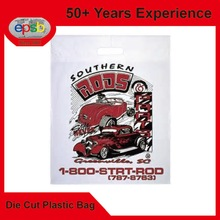 Toto Gift Die Cut Patch Plastic Bag