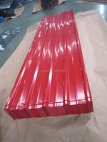 Low price red colour pre-painted steel roofing sheet
