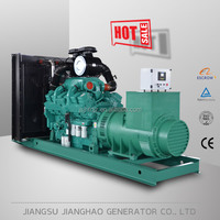Cheaper 500kw electric diesel power generator set Mining industry use 500KW diesel generator with cummins engine
