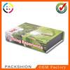 Custom Magnet Closure Book Shape Storage Paper Box