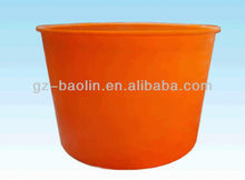 Cylindrical PE food container