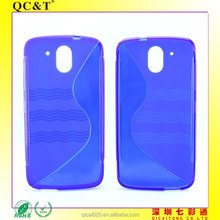 High Quality Full Color High Quality Full Color S Line TPU Cover Case For HTC Desire 526 G+
