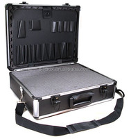 aluminum tool case with diced foam