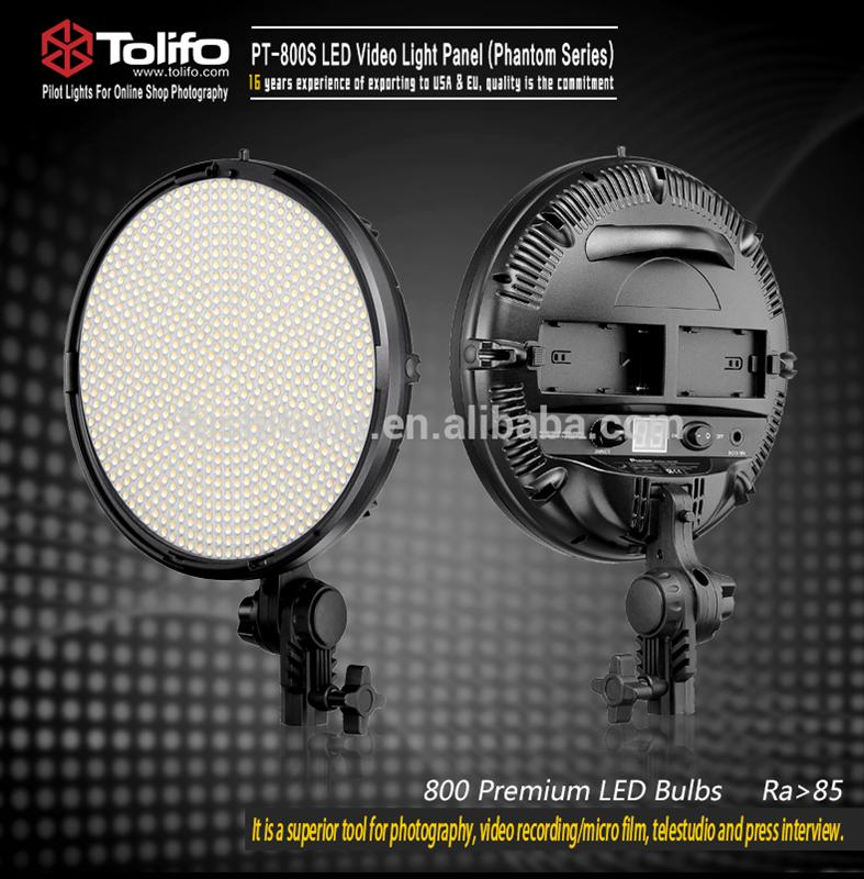 best quality portable remote control round studio photography led