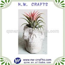 personalizado resina flor del cráneo artesanales titular