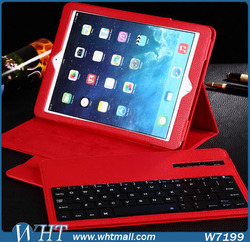 Luxury Leather Case for iPad Pro with Bluetooth Keyboard