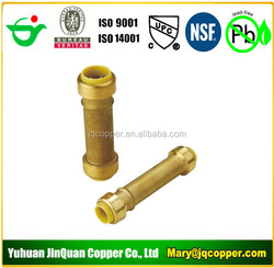 """Slip Coupling 1/2""""MPT X1/2"""" Push Fit Lead Free cUPC NSF quick connect with PEX COPPER CPVC pipe"""