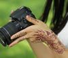 India Henna Style Hand Leg Neck Arm Burnt Henna Temporary Tattoo Sticker Tattoo Seal