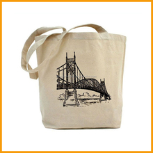 Wholesale Reusable Eco Friendly Tote Canvas Shopping Bag