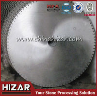 Steel Saw Blank For Cutting Blade Quarry Cutting Blade Steel Core Metal Quarry Blade Blank