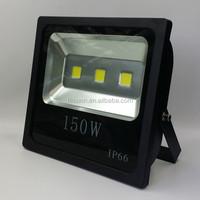 2015 Hotsell black body floodlight led outdoor use, 150 watt led flood light