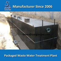 Waste water treatment systems for Dyeing textile wastewater purification