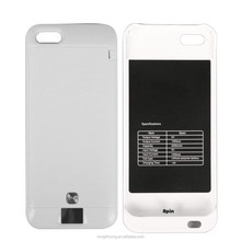 Battery Pack Type and Rechargeable High quality External Battery case For iPhone 5