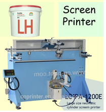 promotional price cheap digital Large cylindrical Container bucket Screen Printer for round shape