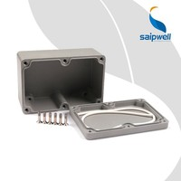 SP-FA2 Saip/Saipwell Aluminum Pedal Enclosure sp-fa2 Electric Junction Box China Wenzhou Best Price Weatherproof Junction Box
