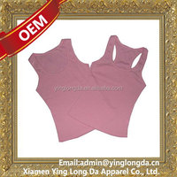 Special hot sale women cotton spandex tank top