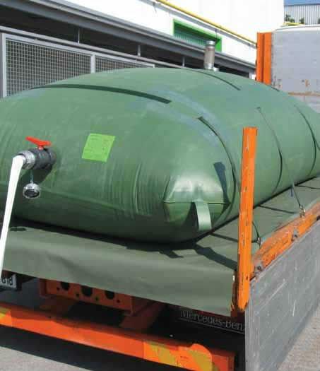 Poly Truck Tank : Folding plastic pvc irrigation waste water tank on truck