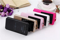 Front View Folio Slim PU Leather Smart Filp Cover Hard Case For Huawei Ascend G7 / G620s