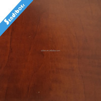 high quality 1250mm 80gsm wood grain hot pressing paper lamination