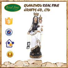 China factory wholesale resin Virgin Mary Madonna with baby Figure Statue