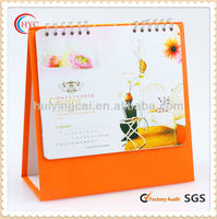 different types paper pop-up magnetic calendar