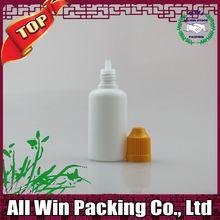 Stock 10ml 15ml 30ml pe squeezable needle nose bottle for e juice