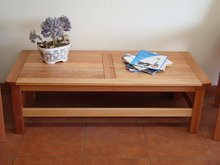 coffee tables wooden (Saligna)