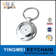 Factory direct supply hot selling metal alarm clock with key holder