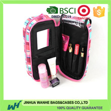 Professional make up bag with mirror made in China