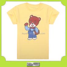 2015 popular casual style men's short sleeve t-shirt , animal design t shirt for men