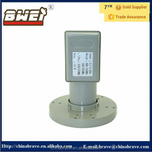 Linear Polarization C Band twin L.O.Frequency double output Lnbf,character