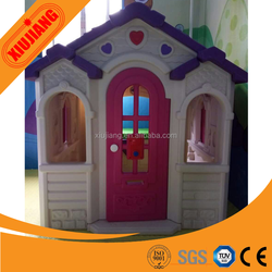 Used commercial plastic kids cubby house for sale baby playground toy