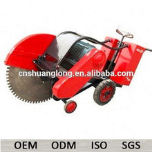 cut 16 inch electric road-surface concrete cutter with water tank
