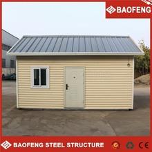 ISO standard low cost kiosk prefabricated beach house china