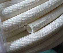 Fiberglass sleeve-outer fiber glass and inner silicone rubber UL approval