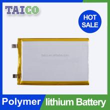 Customized ultra thin li-ion polymer battery 3.7v 1600mah for E-book
