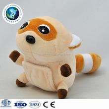 New cheap stuffed soft plush animal toy keychain raccoon cute custom stuffed animal plush toy