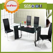 venda quente do pvc da sala de jantar conjuntos de móveis para sala de jantar usado para venda