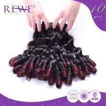 Super Price Tangle Free Remy Ombre Human Hair Bundles Braids
