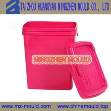 Excellent quality Cheapest plastic pail paint water bucket mould