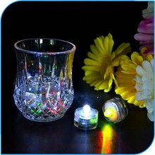2015 Romantic Wedding Decoration Colorful Teal Submersible Led Light