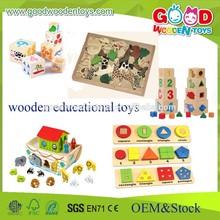 Niños material didáctico juguetes de madera - juguetes educativos de madera - enseñanza multifuncional juguetes