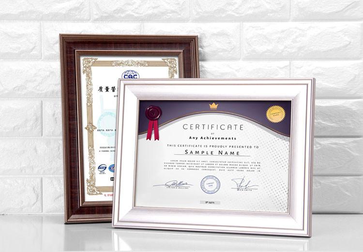 A4 Plastic Graduation Photo Frame Cheap Certificate Frames Wholesale ...