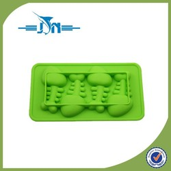 Hot selling silicone halloween pumpkin mold with low price