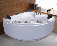 Massage bathtub, acrylic bathtub, mini corner bathtub