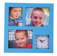 simple square photo frame wall clock(HA-309)