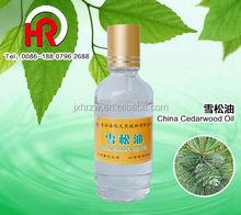 OBM Small Glass bottle Packing cedar tree uses cedar wood cost