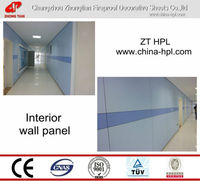 melamine laminate wall panel/ train toilet/ high pressure laminate