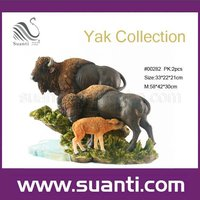 Factory price Life size polyresin wild animal home decoration