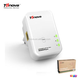 7HP150 500M Powerline Mini Homeplug AV Ethernet rj45 wireless network Adapter Plug and Play Adapter